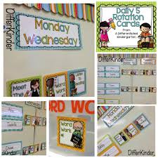 Daily 5 Rotation Chart Organizing Daily 5 Literacy Stations In Kindergarten And