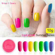 <b>Very Fine 10g</b>/<b>Box</b> Summer Series Color Dipping Powder Without ...