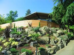 low water rock gardens