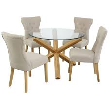 round glass dining table sets for 4 beautiful round glass dining table with 6 chairs choice