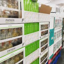 amazing mini patron tequila bottle gift set at costco
