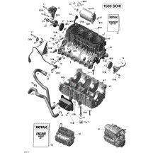 420856533 sea doo oil pressure switch 31 49 2wheelpros 2007 sea doo speedster 200 215ic engine block
