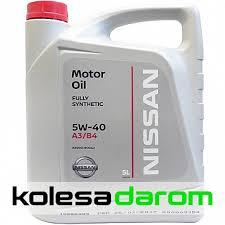 Купить <b>моторное масло</b> для автомобиля <b>Nissan Motor Oil</b> 5W40 ...