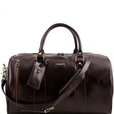 tuscany leather travel leather duffle bag large size made in italy