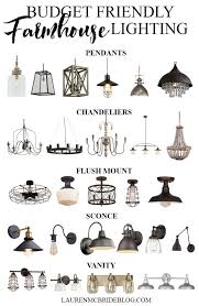 farmhouse lighting ideas. Check Out These Budget Friendly Farmhouse Lighting Options! All Range From $20-$250! Ideas