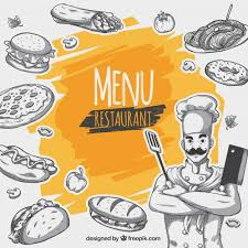 Restaurant Menu Background Vector Free Download