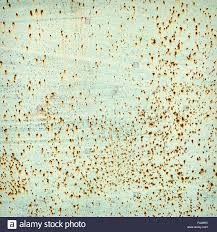 Light Corrosion Through A Light Green Paint The Pitting Corrosion Appears