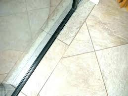 tile to carpet transition in doorway interesting carpet to tile threshold bathroom transition between porcelain and