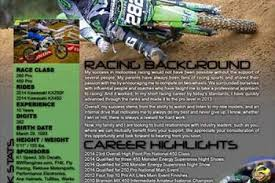 may june sw 2015 barak mooneyhan sponsorship resume stonevoicesco -  Motocross Sponsorship Resume