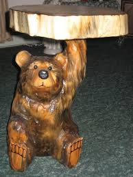 end table bear view images