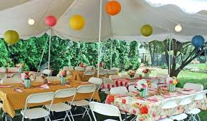 for backyard tent ideas camping birthday party
