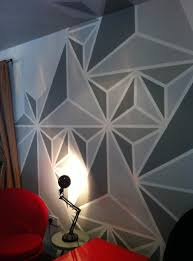 Paint Designs On Walls What Colour To Paintgeometric Update Walls Geometric Wall And