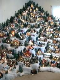 Christmas Tree Village Display Stands Impressive Village Display Stands For Sale Best To Collect Festival Collections