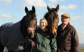 Grand National 2014: Harvey Smith remains a grumpy national treasure as he  and wife Sue tilt at Aintree history