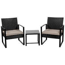 3 pcs rattan wicker furniture set 2