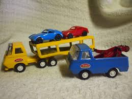 Tiny Trucks Tiny Tonka Car Carrier 1st Version Made 2nd Version Of The Tow