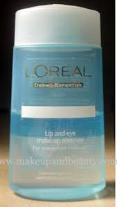 loreal gentle lip eye makeup remover