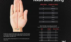 Goalkeeper Glove Size Chart 66 Up To Date Kobo Goalkeeper Gloves Size Chart