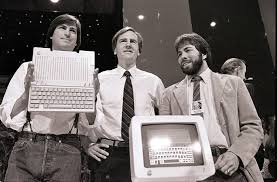here are ways steve jobs changed the world com jobs left john sculley and steve wozniak unveil the new apple ii computer in san francisco 24 1984