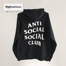 Anti Social Social Club Tee Size Chart Best Rep Anti Social Social Club Hoodie For Sale Repfashions