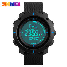 compare prices on survival compass watch online shopping buy low skmei 1216 fashion sports watches men multiple digital time compass watch 3 alarm 50m waterproof chronograph