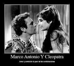 Resultado de imagen para MARCO ANTONIO CLEOPATRA
