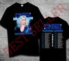 Details About Cher Official Cher Brand Dancing Queen T Shirt