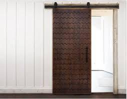 alta chevron pattern sliding barn door