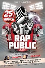 flyer rap free rap battle public flyer template by mikkool graphicriver