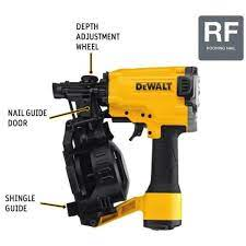 15 coil roofing nailer dw45rn