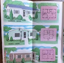 vintage 1950 jim walter home brochure