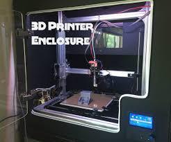 picture of diy 3d printer enclosure