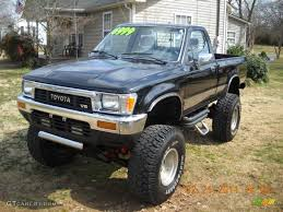 Black 1989 Toyota Pickup SR5 Regular Cab 4x4 Exterior Photo ...