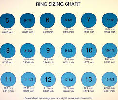 Ring Size Chart For Men Actual Size 12 Complete Ring Size Chart Real Size