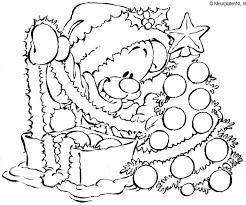 Mimi Mickey Mous Kerst Kleurplaat