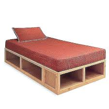 Twin Xl Bedframe Twin Bed Frame With Storage Beds Headboard ...