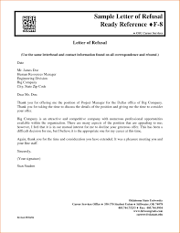 Delighted Job Rejection Letter Sample Photos Resume Ideas