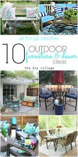creative outdoor furniture. 10 Creative Outdoor Furniture And Decor Ideas S