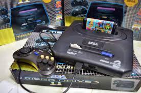 Máy chơi game Sega 6 nút - Tặng 1 Băng