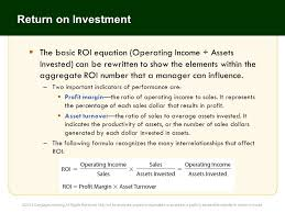 13 return on investment the basic roi equation