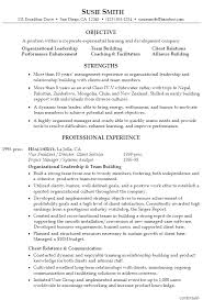leadership resume template resume for a corporate leadership .