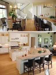 Open Concept Floor Plan With Large Rectangular Kitchen Counter - Kitchens and more