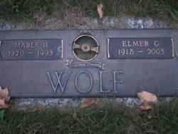 Elmer G. Wolf (1918-2003) - Find A Grave Memorial