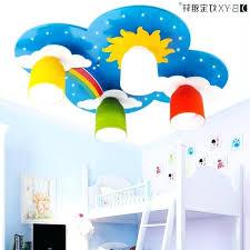 kids room ceiling lighting. Kids Bedroom Ceiling Room Light Rainbow Bridge Lights Male Child Cartoon Lighting S