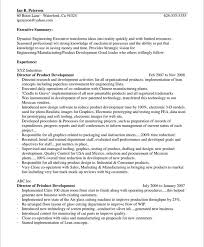 Dynamic Engineering Executive Sample Resume Introduction Paragraph