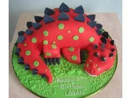 Logan Red Dinosaur Cake Eli Birthday Ideas Dinosaur Birthday