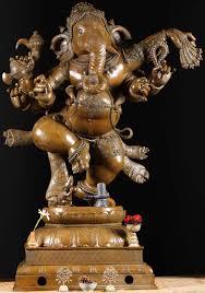 masterpiece bronze dancing ganesh statue 60