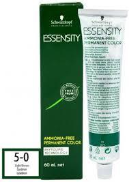Essensity Colour Chart Schwarzkopf Essensity Ammonia Free Permanent Hair Color
