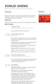 artist resume sle 18 freelance artist resume sles