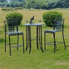 tall patio table. Innovative Tall Patio Bistro Set Furniture Table And Chairs
